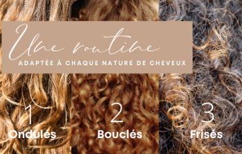image Une routine adaptée à votre type de cheveux : ondulé, bouclé ou frisé